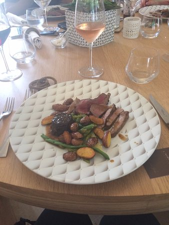 Gennes, France : Beef Dish