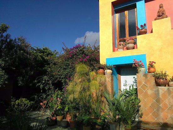 Hotel Posada El Paraiso : cortile interno