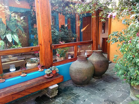 Hotel Posada El Paraiso: patio visto dal cortile