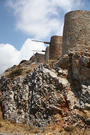 Lassithi plateau stones windmills
