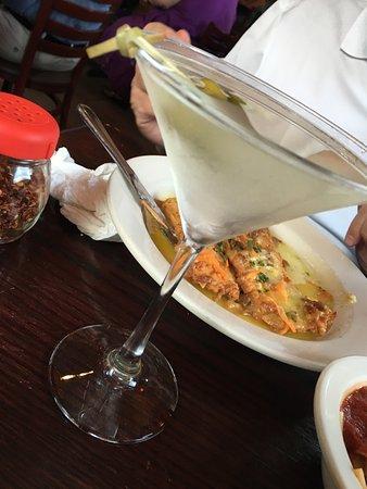 Chicopee, MA: Traditional Gin Martini.
