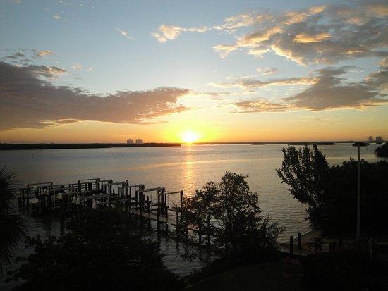 لافرز كي ريزورت: Sunrise view from the terrace