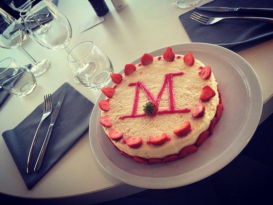 Les gâteaux d'anniversaires du M