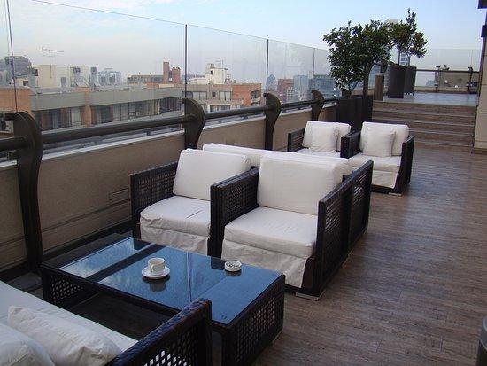 Terraza En El Piso 17 Picture Of Hotel Plaza El Bosque