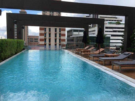 Great Rooms Huge Bathroom Swimming Pool Picture Of Vie Hotel