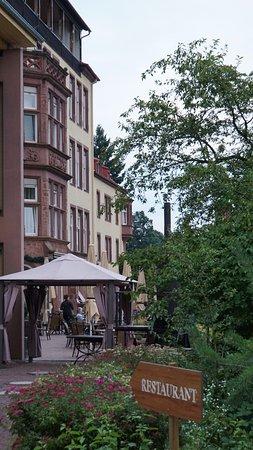 Hotel Franziskushoehe: Terasse