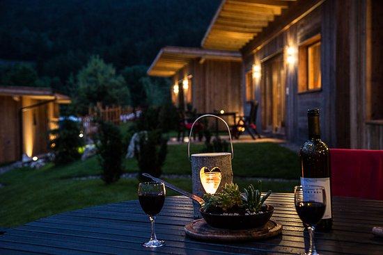 Camping Seiser Alm: Abend Romantik