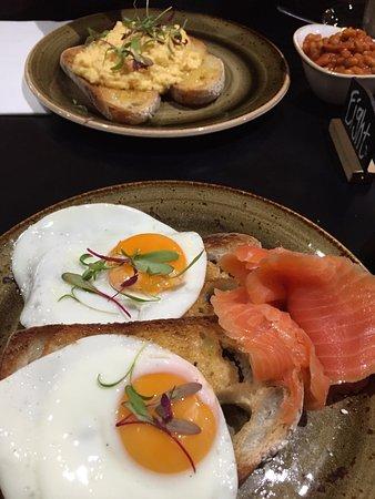 Essendon, Australia: Our yummy breakfast