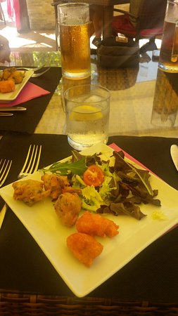 Restaurante Sarita: Entrante ...