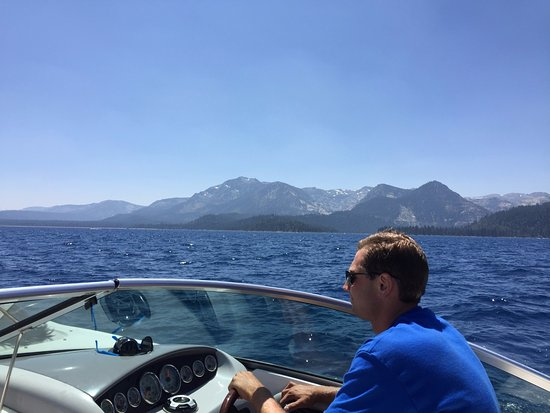 Lake Tahoe Boat Rides: Captain Steve!