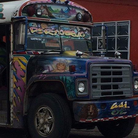 Portobelo, Panamá: Pintoresco el medio de transporte