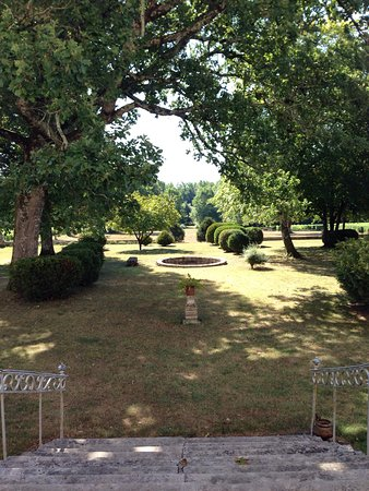 Chateau Couloumey : View from the terrace