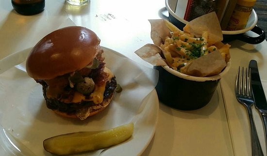 Tolle Burger, aufmerksamer Service