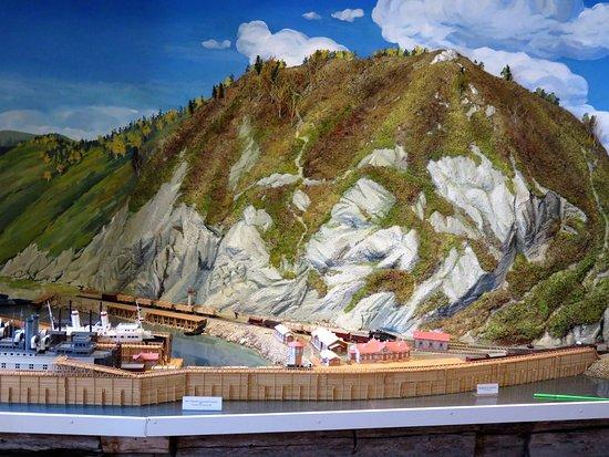 Baikal, รัสเซีย: Музей истории Кругобайкальской железной дороги