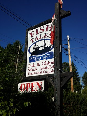 Fish Tales Cafe: Fish Tales