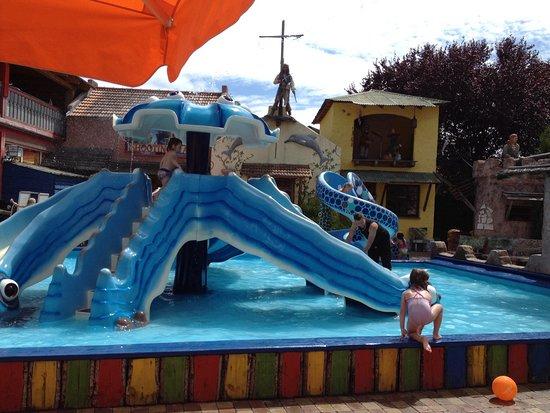 Kappel-Grafenhausen, Germania: Wasserspielplatz vorhanden Badesachen nicht vergessen