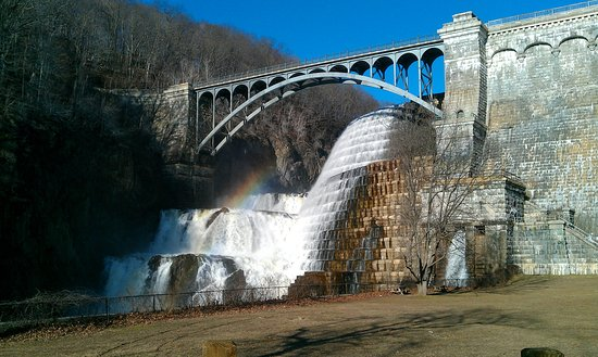 Croton on Hudson, NY: To Catch A Rainbow at the Dam