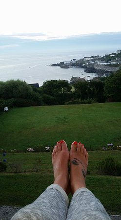 Penmarth House B&B: Sitting out of the window