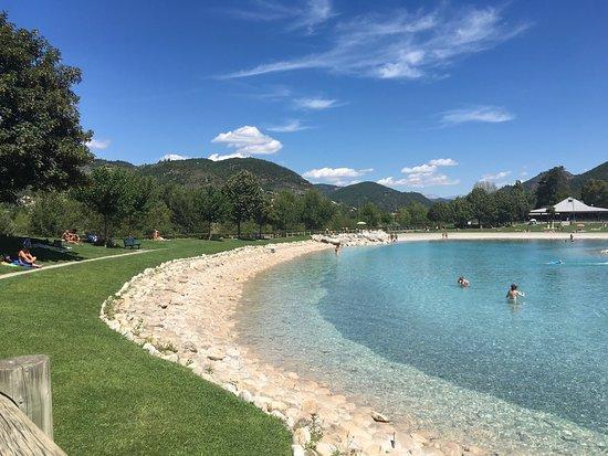 Plan d 39 eau des ferreols digne les bains aktuelle 2017 - Camping provence avec piscine ...