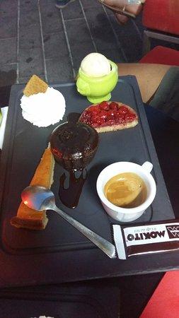 Cafe Del Arte: Café gourmand