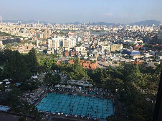 Grand Hyatt Seoul: 룸에서 보는 한강뷰