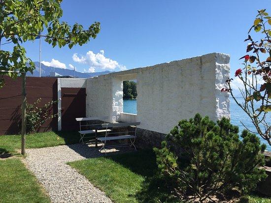 La villa le lac est une petite maison de 4m par 16 r alis e par le corbusier - Photo de petite maison ...