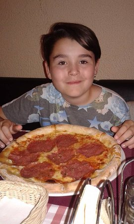 Bar Italiano - Pizzeria: pizza !
