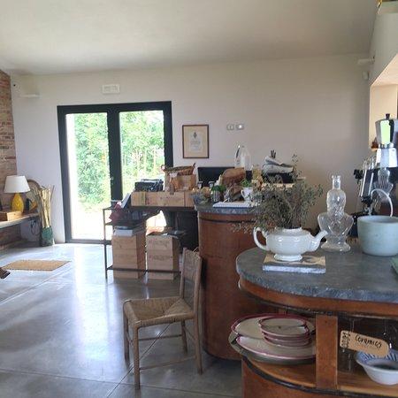 Valiano, Italia: Il panorama dalla'Dogana'