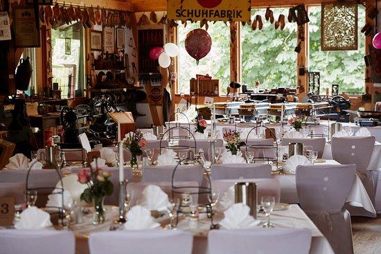 Schlangenbad, Deutschland: Unsere Hochzeitsfeier im Mühlenmuseum (Foto von Mauro Pinterowitsch)