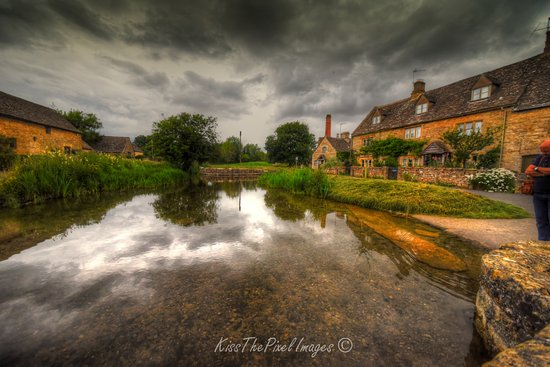 Lower Slaughter, UK: The Beautiful Cotswolds. Simply Stunning. A two minute walk from The Slaughters Manor House.