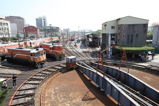 Changhua, Taiwan: 火車轉盤