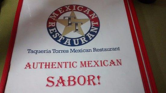 Cleburne, TX: menu cover