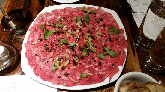 Kennebunk, Maine: Awesome Beef Carpaccio