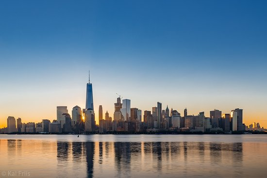 sunrise over manhattan picture of manhattan skyline new york city tripadvisor. Black Bedroom Furniture Sets. Home Design Ideas