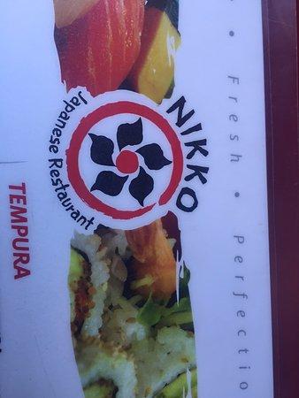 Nikko Sushi Japanese Restaurant: The restaurant crest.