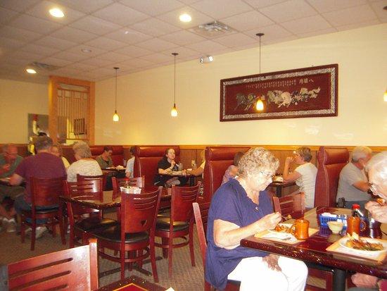 Portland, MI: dining room