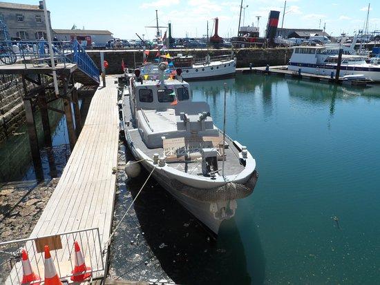 Ramsgate, UK: gun boat