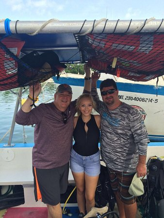 Sea Robin Cozumel: Diving with our friends!