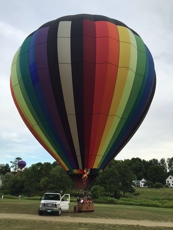 Balloons of Vermont - Private Flights: Balloons of Vermont