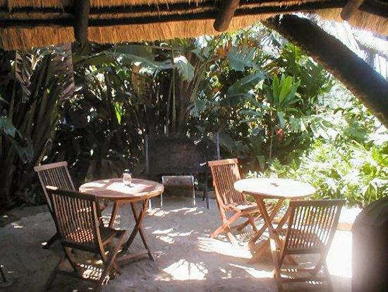 Port Edward, Sydafrika: The dining area