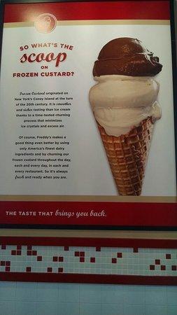 จอห์นสันซิตี, เทนเนสซี: Not ice cream,  custard