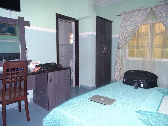 Minna, Nigéria: The room