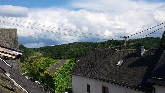 Manderscheid, Duitsland: the view from my skylight