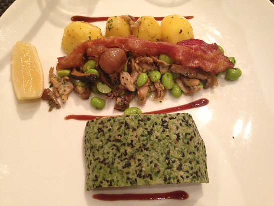 Abacus Restaurant, Garden & Bar: Très jolie présentation