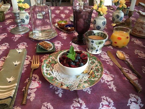 Jim Thorpe, Pensilvania: Incredible gourmet breakfast!