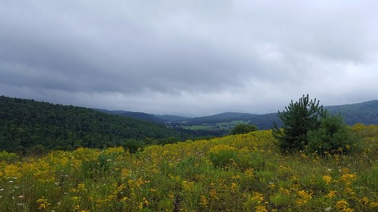 Saint Johnsbury, Вермонт: View on hike