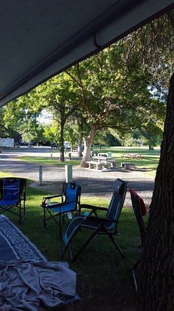 Ephrata, Etat de Washington : Oasis RV and Golf Course