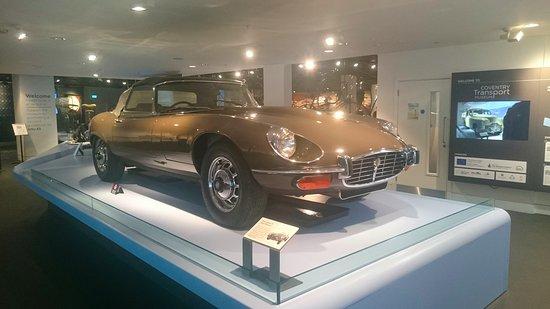 Coventry, UK: 1974 Jaguar 'E' type