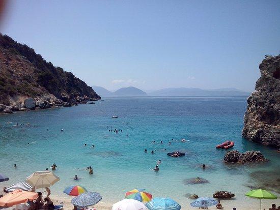 Vasiliki Blue: Agiofili beach