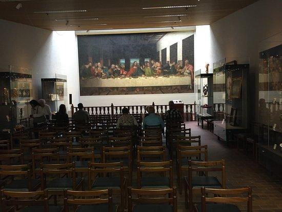 Da Vinci Museum: Beeld bij de ingang.